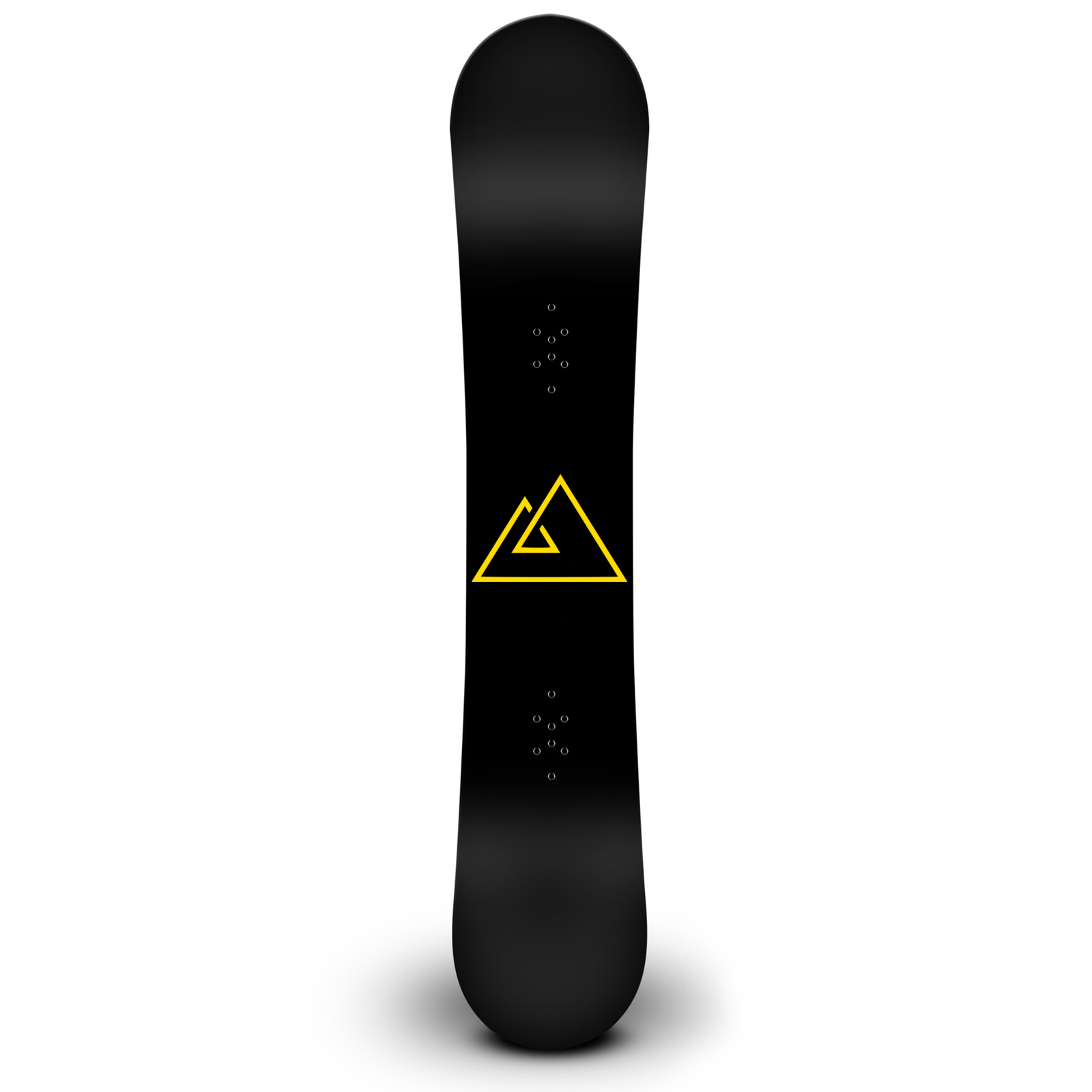 Triple Triangle Symbol Snowboard Sticker All Weather Vinyl Decal